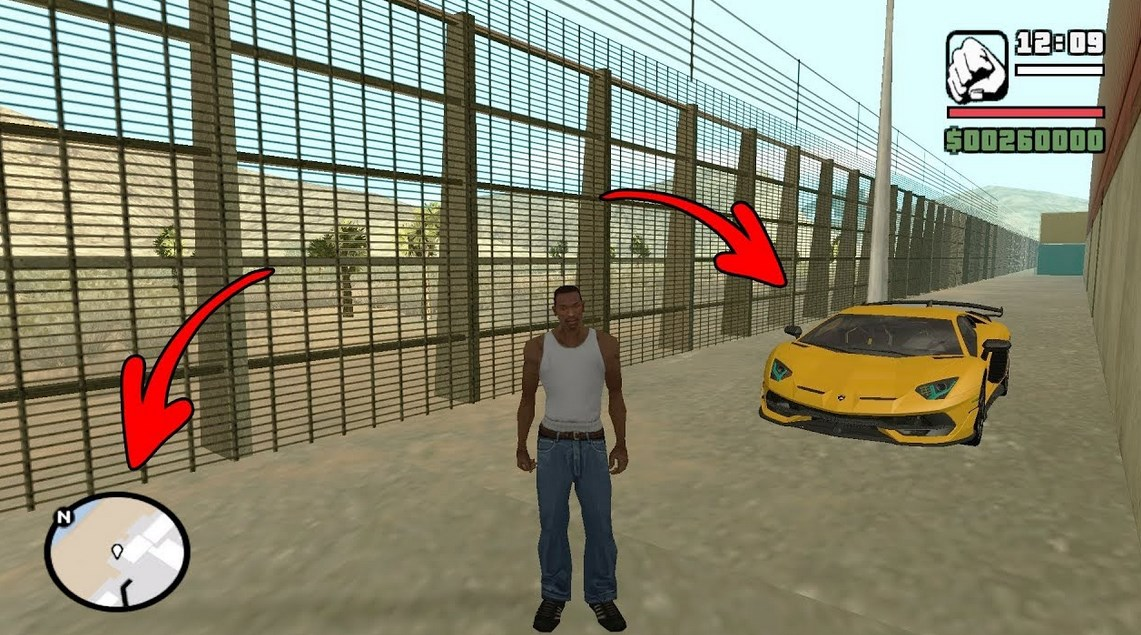 Cheat-GTA-San-Andreas-Kendaraan-Mobil-di-PS2
